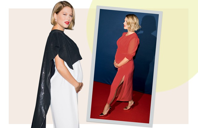 MINIMALISTA: Léa Seydoux recorre a vestidos sofisticados com estética clean para cruzar o red carpet (Foto: Alo Ceballos, Josiah Kamau, Daniel Zuchnik, Marc Piaseck e Dominique Charriau/ Gettyimages, Splash News, Grosby Group, Akm-gsi e Getty Images)