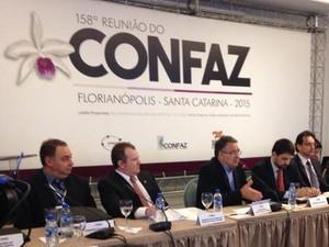 Colombo participa do Confaz nesta sexta (2) (Foto: Secom/Divulgação)
