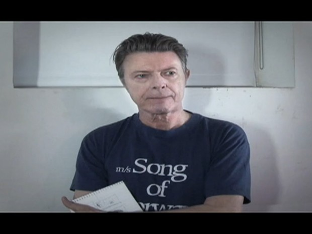 David Bowie no clipe de 'Where are we now?' (Foto: Reprodução/Davidbowie.com)