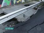 Vídeos mostram estragos causados por temporal na Zona Leste de SP
