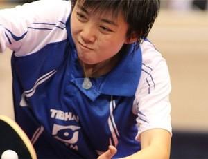 Gui Lin tênis de mesa China (Foto: Divulgação / CBTM)