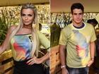 Replay? Veridiana Freitas e Enzo Celulari vão a mesmo camarote no Rio