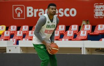 Seleção brasileira de basquete treina em Mogi, última parada antes do Rio