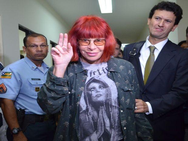Rita Lee disse que ama os sergipanos e que espera voltar ao estado para fazer shows (Foto: Marina Fontenele/G1 SE)