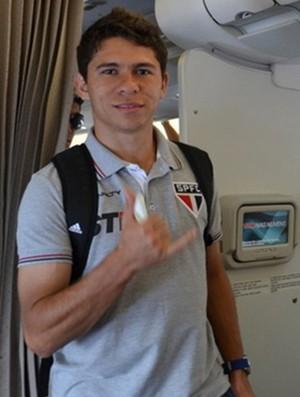 Osvaldo, jogador do São Paulo (Foto: www.saopaulofc.net)