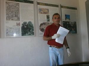 Sidrach Carvalho (Foto: Marina Pereira/G1)