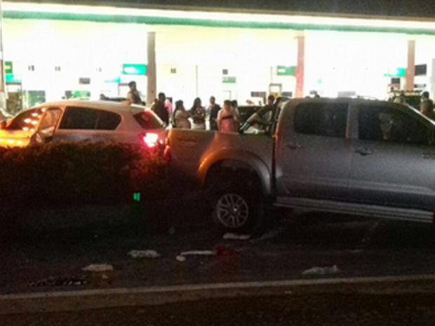 Acidente ocorreu na BR-020, na cidade de Caucaia, Região Metropolitana de Fortaleza (Foto: PRF-CE)