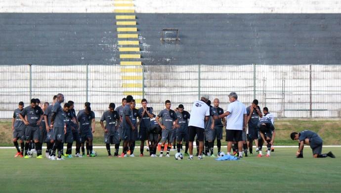 ABC treino Estádio Frasqueirão Geninho (Foto: Assessoria de Comunicação/ABC FC)