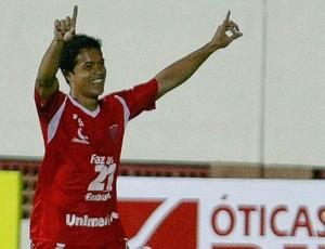 Felipe gol Mogi Mirim (Foto: Mário  Ângelo / Ag. Estado)