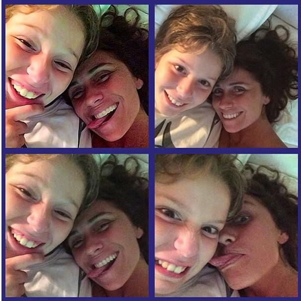 Sem maquiagem, Giovanna Antonelli posta foto com filho acordando