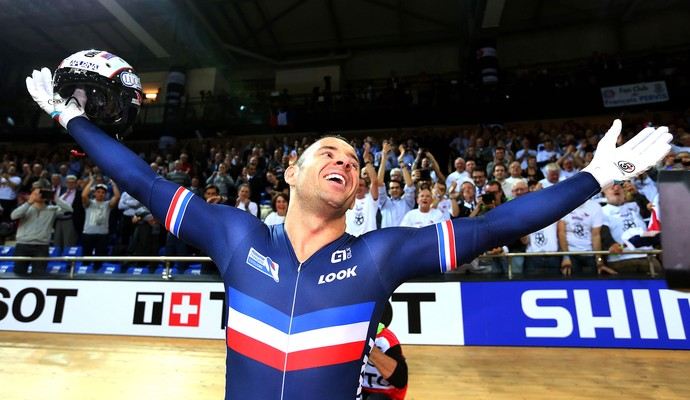 François Pervis, 2015 UCI Track Cycling World Championships (Foto: Agência Reutes)