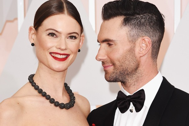 Behati Prinsloo e Adam Levine (Foto: Getty Images)