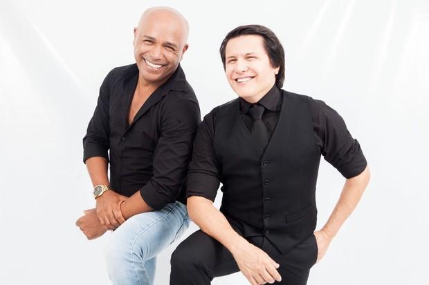 Rick e Giovani (Foto: Rodrigo Amaro/Divulgação)