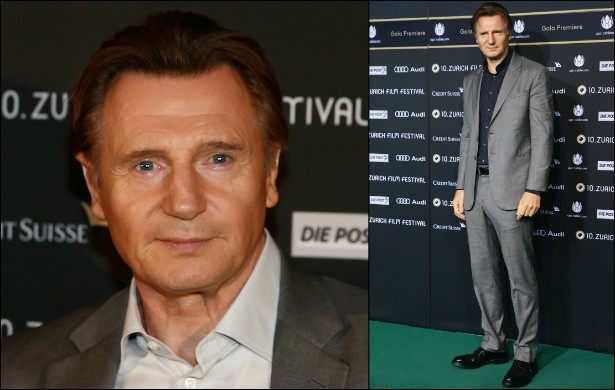 O galã sessentão Liam Neeson também mede 1,93m. (Foto: Getty Images)