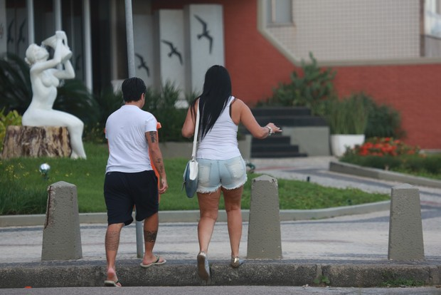 Thammy Miranda e Gretchen (Foto: Dilson Silva/AgNews)