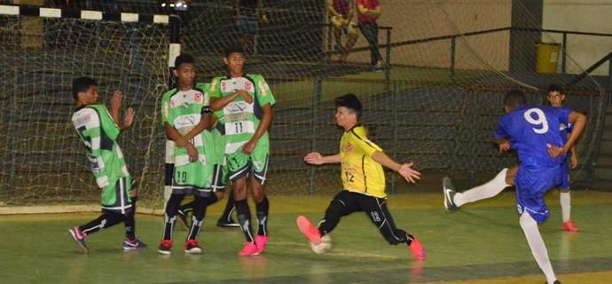 Taça Roraima de Futsal Sub-17, Independente e Vivaz (Foto: Nailson Wapichana)