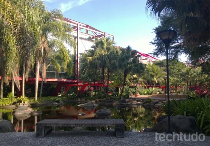Foto tirada em ambiente externo com o Lumia 720 (Foto: Isadora Díaz/TechTudo)
