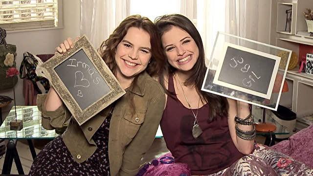 Ju e Anita (Foto: Malhação/TV Globo)
