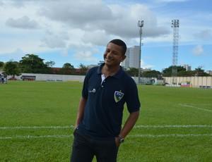Elias, técnico do Rondoniense (Foto: Jheniffer Núbia)