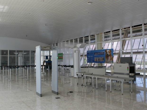 Conclusão parcial no aerorporto foi entregue neste domingo (17) (Foto: Divulgação/Infraero)