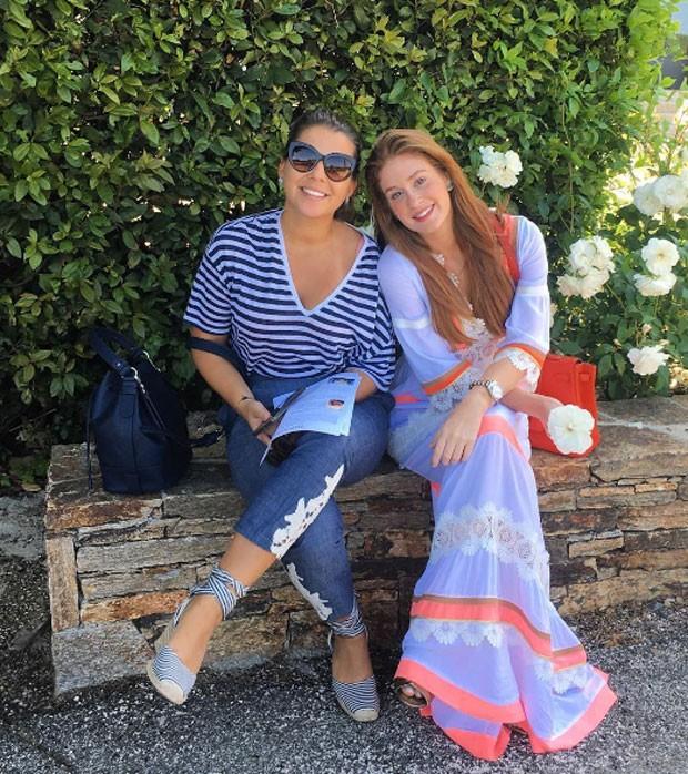 Ritoca e Marina Ruy Brabosa (Foto: Reprodução)
