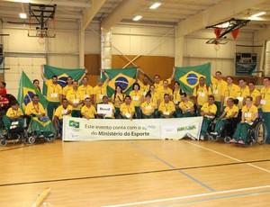 Delegação Brasil Copa America Bocha Adaptada (Foto: Reprodução)