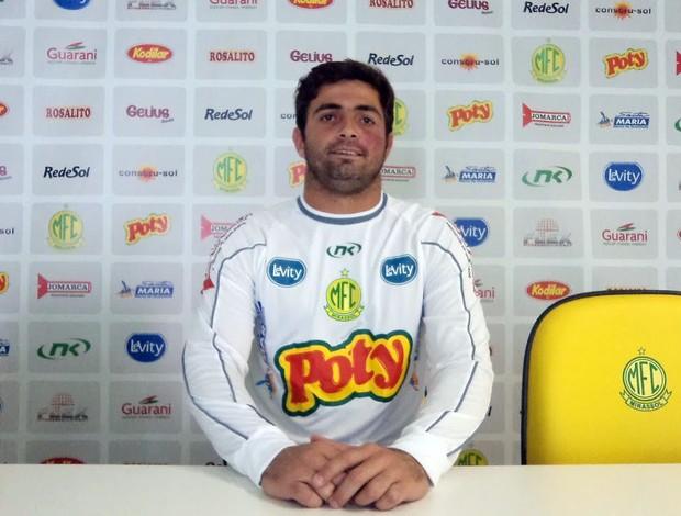Diego, goleiro do Mirassol para o Paulistão (Foto: Vinicius de Paula/Mirassol FC)