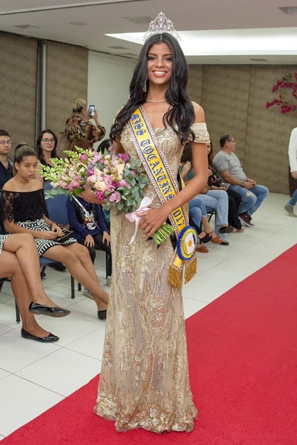 Islane Machado foi eleita Miss Tocantins 2017 (Foto: Divulgação/Bpfotografia)