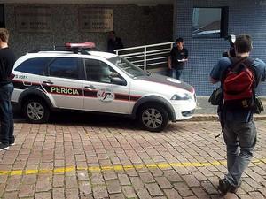 Polícia Civil faz reconstituição de exames de ressonância magnética após 3 mortes no Hospital Vera Cruz, em Campinas (Foto: Luciano Calafiori/G1 Campinas)