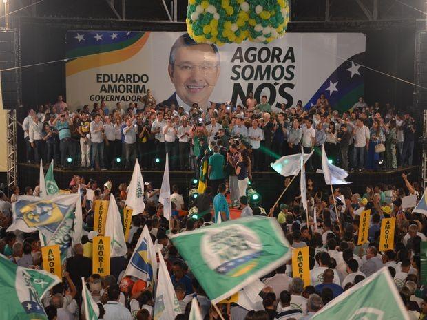 Coligação é composta por 16 partidos (Foto: Flávio Antunes/G1)