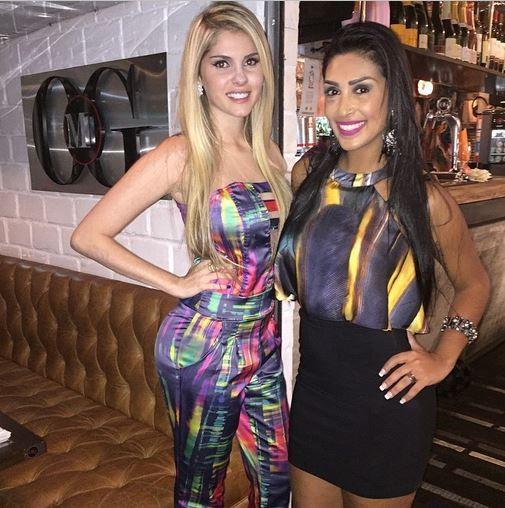 Bárbara Evans e Amanda  (Foto: Reprodução/Instagram)