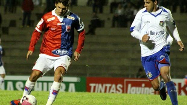Lucio Flavio em jogo do Paraná contra o Boa Esporte (Foto: Divulgação/Site oficial do Paraná Clube)