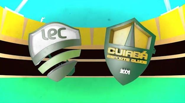 Luverdense x Cuiabá se enfrentam na semifinal do Campeonato Mato-grossense (Foto: Reprodução/TVCA)