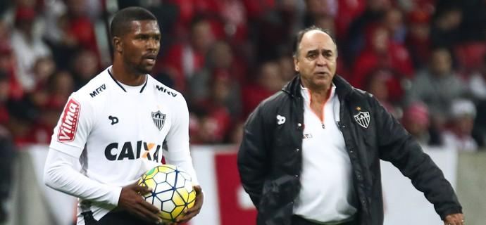 Carlos César; Marcelo Oliveira; Atlético-MG (Foto: Bruno Cantini/ Flickr Atlético-MG)