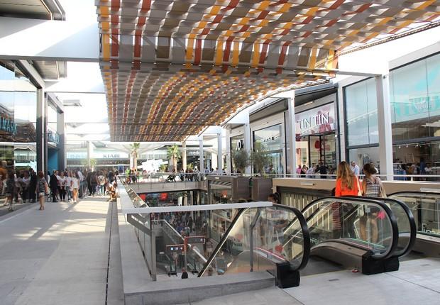 Shopping center administrado pela Carmilla, braço do Grupo Carrefour (Foto: Divulgação)