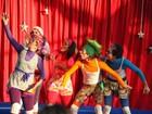 Desperdício de água é tema de espetáculo circense em Guararema