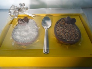 Ovos de Páscoa Araxá Danielle Cristina Couto (Foto: Danielle Cristina/Arquivo Pessoal)