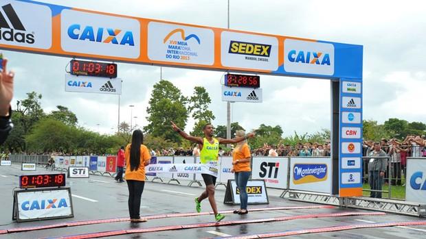 Daniel Chaves meia maratona (Foto: Divulgação)