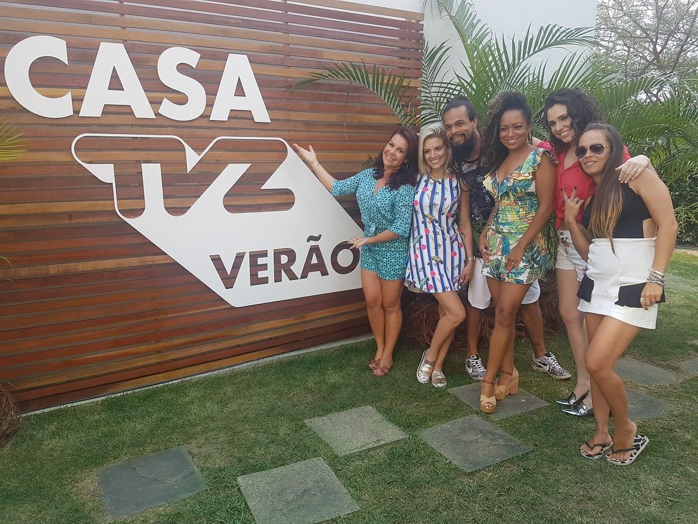 Chiquititas invadiram a Casa TVZ Vero pra comemorar os 20 anos (Foto: Multishow)