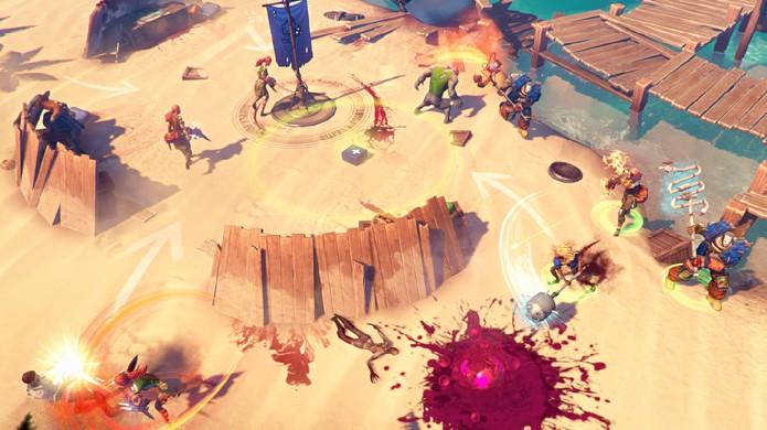 Dead Island: Epidemic traz combates nos moldes de League of Legends (Foto: Divulgação)