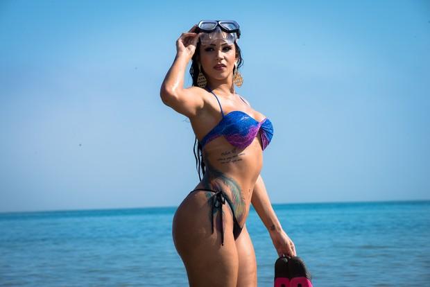 Novo ensaio sensual de participantes Miss Bumbum - Jenny Miranda Pernambuco (Foto: Nelson Miranda / MBB6)