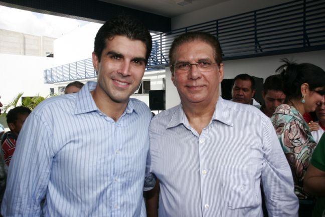Hélder Barbalho e Jáder Barbalho (Foto: Divulgação)