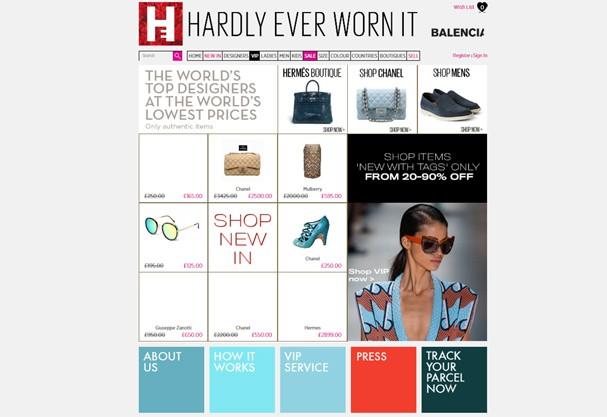Hardlyeverwornit.com (Foto: Divulgação)