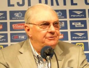 Gilvan de Pinho Tavares, presidente do Cruzeiro (Foto: Gustavo Aleixo)