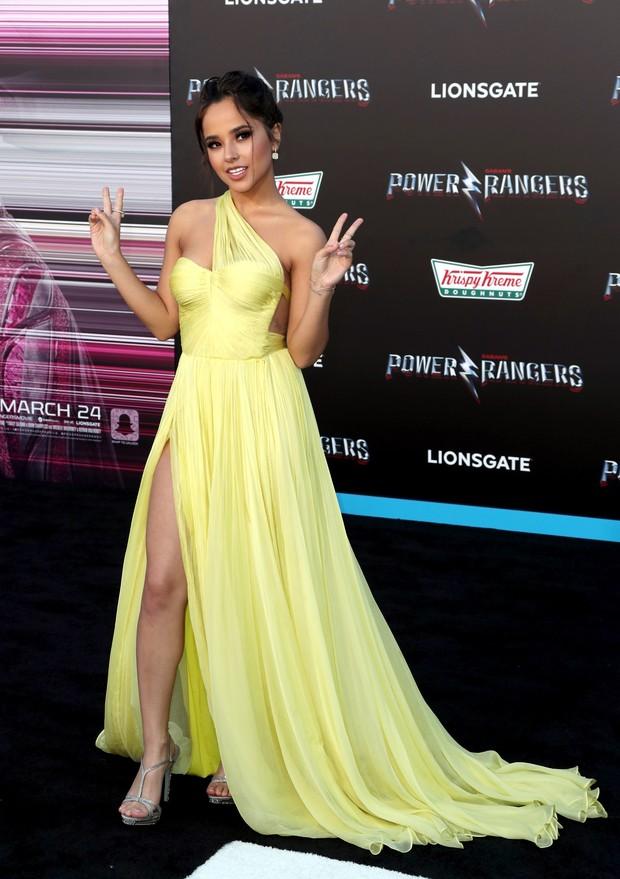 Becky G em première de filme em Los Angeles, nos Estados Unidos (Foto: Frederick M. Brown/ Getty Images/ AFP)