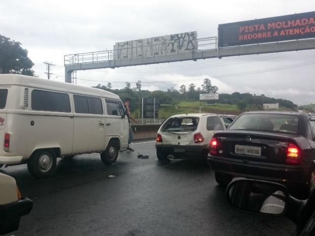 Chuva em Sorocaba (Foto: Rodrigo Santos)