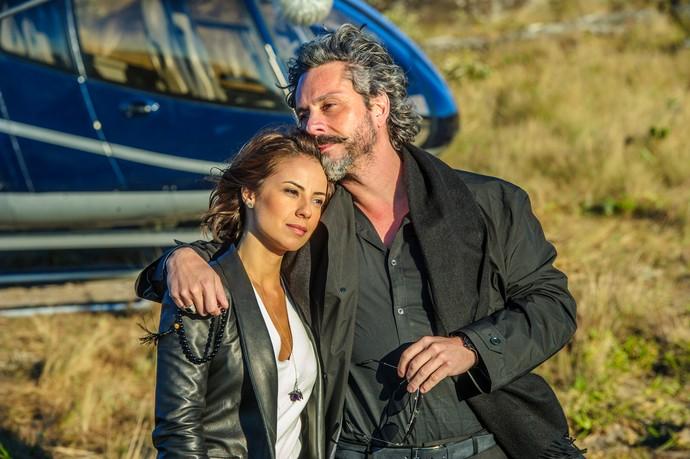 Andreia Horta e Alexandre Nero em Império (Foto: Alex Carvalho/Globo)