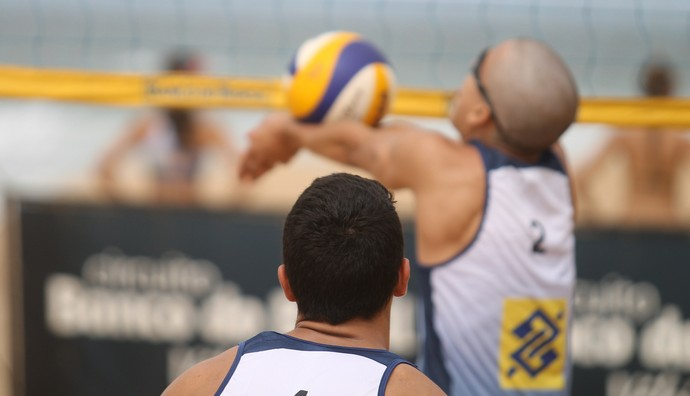 gabriel/txesco, gabriel, txesco, vôlei de praia paraíba (Foto: Divulgação / CBV)