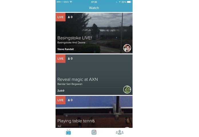 Esta é a tela principal do app (Foto: Reprodução/Aline Jesus)