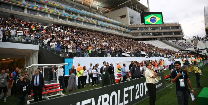 Arena Corinthians Corinthians x Botafogo (Foto: Marcos Ribolli)